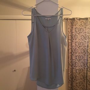 Dress tank; mint/seafoam